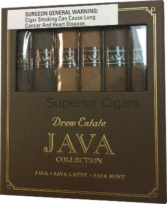 Java, Java Collection Sampler, Includes 2 each Robusto