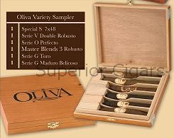 Oliva Variety Sampler, Contains 1 each of the following: