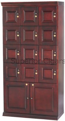 "Cigar Locker Humidor, 38 "" W x 18\""D x 76\""H, Holds up to 5,000 Cigars"